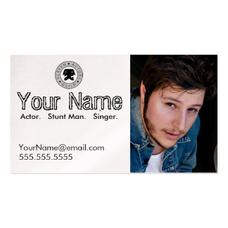 Headshot Business Card for the Working Actor