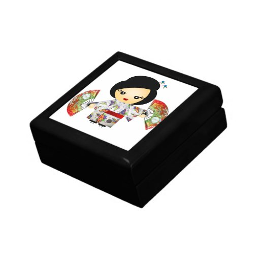 Headstock with Kimono Jewelry Box