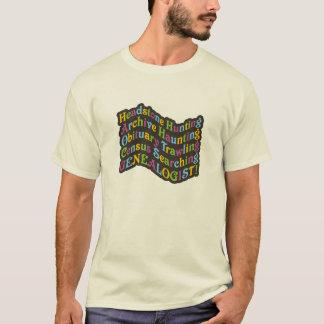 Headstone Hunting Genealogist T-Shirt
