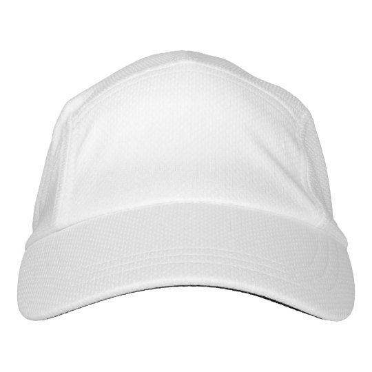 Custom Knit Performance Hat, White