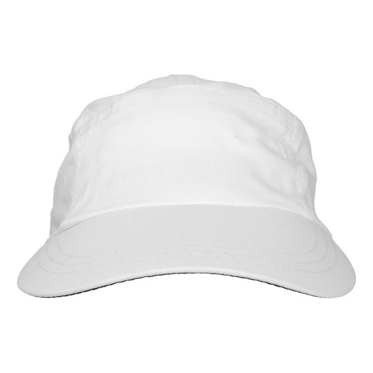 Custom Woven Performance Hat, White