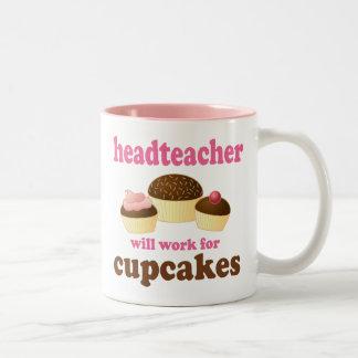 Headteacher (Funny) Gift Two-Tone Mug