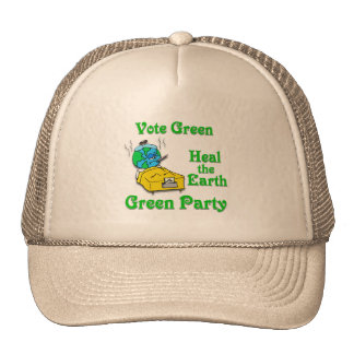 Heal the Earth, Vote Green Hat