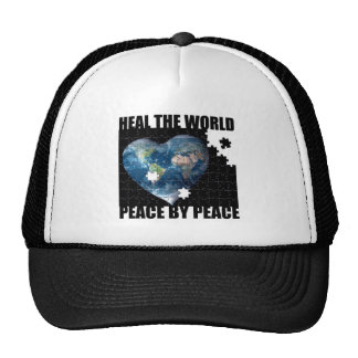 Heal the World Peace by Peace Hat