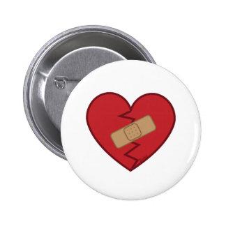 Heal Your Broken Heart 6 Cm Round Badge