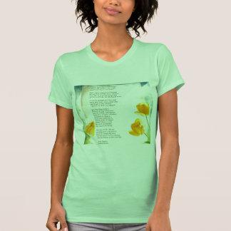 Healer Anita Fugoso's letter about love on vintage T Shirts