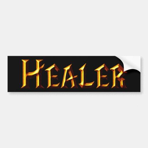 Healer Bumper Sticker