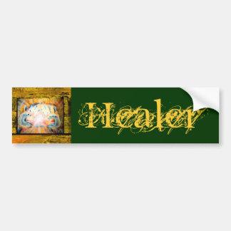 Healer, Healing Hands Car Bumper Sticker