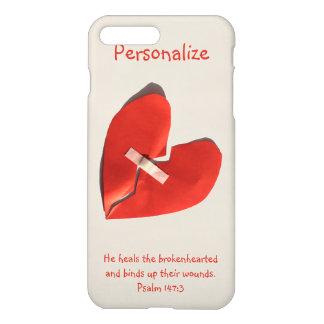 Healer of Broken Hearts Psalm 147:3 Scripture Art iPhone 7 Plus Case