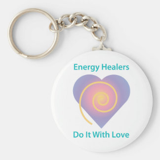 Healers Do It With Love Keychains
