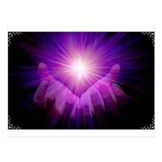 Healers flame postcard
