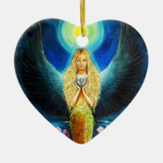 Healing Angel Christmas Ornament