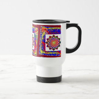 Healing CHAKRA : High Energy Art Boundryless Stainless Steel Travel Mug
