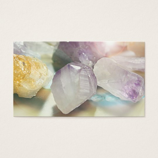 Healing Crystals / Therapist Business Cards