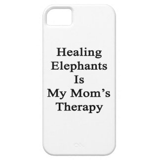 Healing Elephants Is My Mom's Therapy iPhone 5 Cover