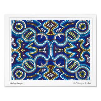 Healing Energies - Dot Designs by Gina Photo Print