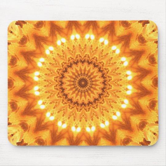 Healing Energy Sunny Mandala Mousepad