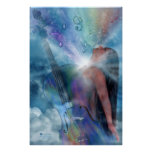 Healing Expression Art Poster/Print