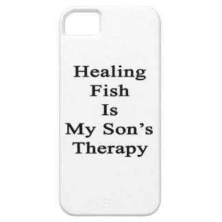 Healing Fish Is My Son's Therapy iPhone 5 Cases