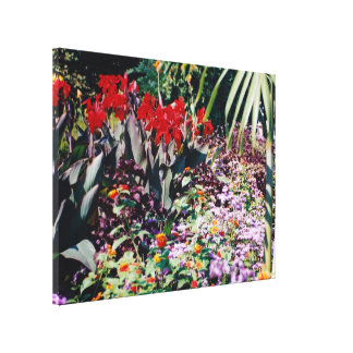Healing Garden Gallery Wrapped Canvas