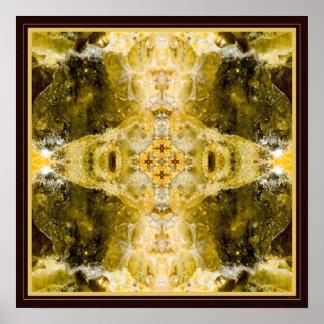 Healing Green garnet Print