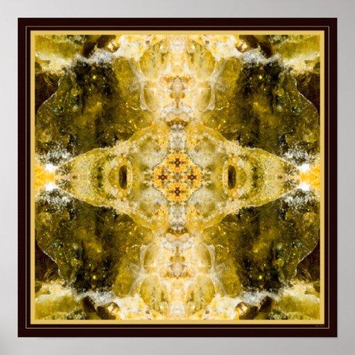 Healing. (Green garnet) Print