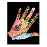 Healing Hand Post Card