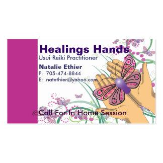 Healing Hands - Business Card2 Business Cards