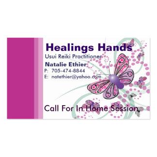 Healing Hands - Business Card3 Business Card