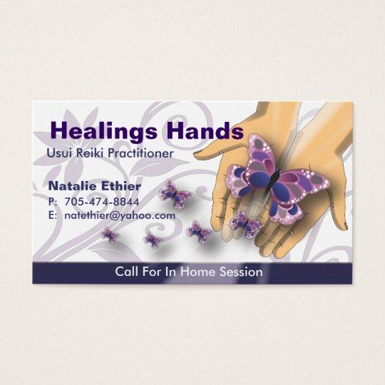 Healing Hands - Business Card-3 Business Card