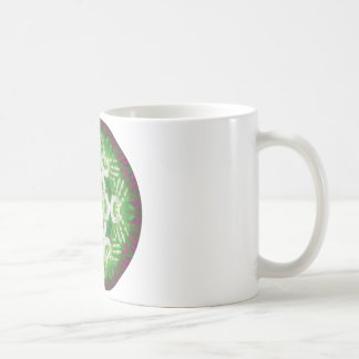 Healing Hands Mandala V3 Basic White Mug