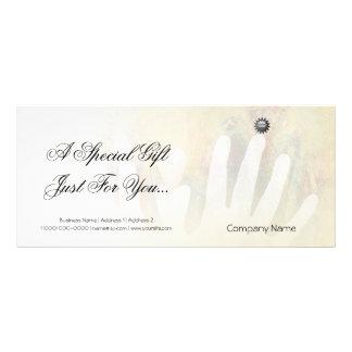 Healing Hands Massage Personalized Rack Card