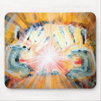 Healing Hands Mouse Mat