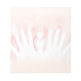 Healing Hands Pink Light Scratch Pads