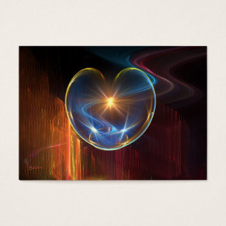 Healing Heart Business Card