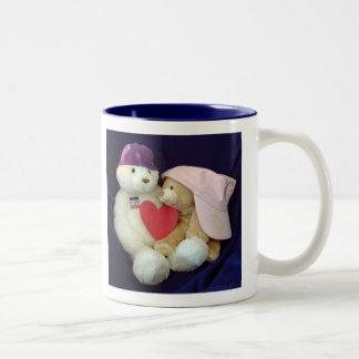 Healing Hugs Mug Blue