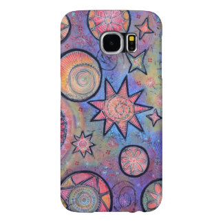 Healing Light Abstract Samsung Cosmic Pattern Samsung Galaxy S6 Cases