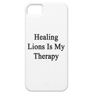Healing Lions Is My Therapy iPhone 5 Cases