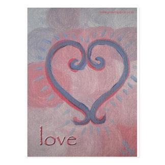 Healing Love Postcard
