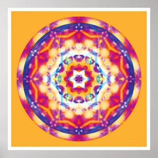 Healing Mandala 12 Print