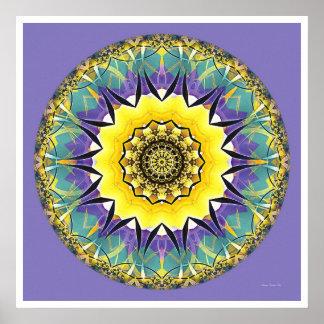 Healing Mandala 5 Poster
