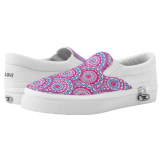 Healing Mandala Field ~ Slip On Sneakers