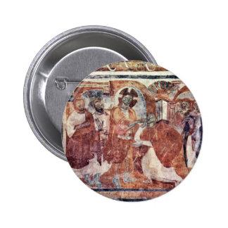 Healing Of The Deaf, By Meister Von Müstair (Best 6 Cm Round Badge