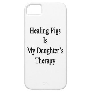 Healing Pigs Is My Daughter s Therapy iPhone 5 Cases