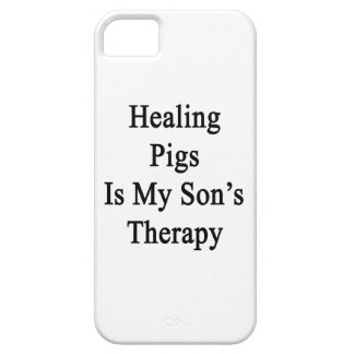 Healing Pigs Is My Son s Therapy iPhone 5/5S Covers