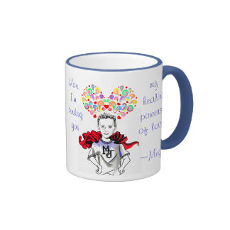 Healing Powers of Love - Megan the Hero Mugs