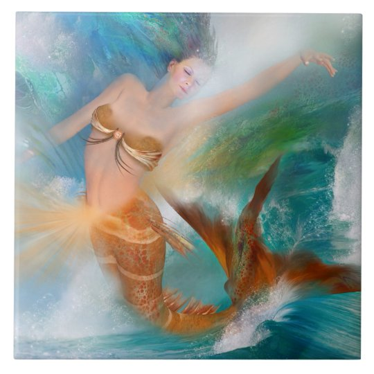Healing Sacral Goddess Art Tile