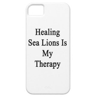 Healing Sea Lions Is My Therapy iPhone 5 Cover