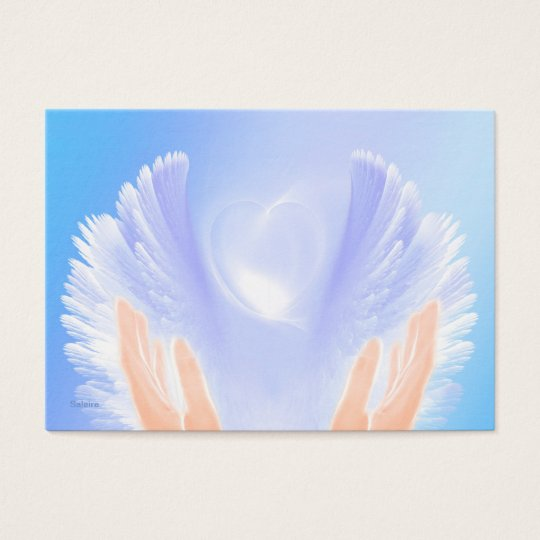 Healing with Angels Business Card