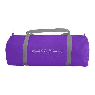 Health and Harmony Duffle Bag Gym Duffel Bag